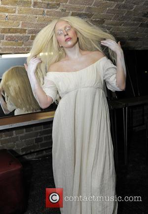 Lady Gaga - Lady Gaga backstage at G-A-Y London - London, United Kingdom - Saturday 26th October 2013