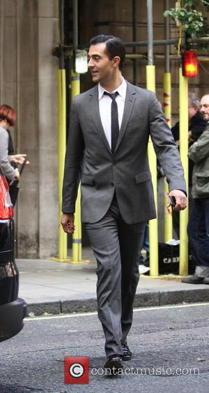 Darius Campbell - Darius Campbell seen leaving Radio 2 after The Terry Wogan Show. - London, United Kingdom - Sunday...