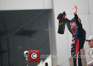 Sebastian Vettel - F1 - Formula One Grand Prix India - Buddh International Circuit - Sebastian Vettel / Red Bull...