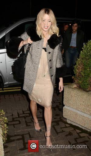Peaches Geldof - Peaches Geldof and husband Thomas Cohen at The Saturday Night show with other guests, RTE... - Dublin,...