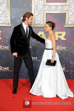 Chris Hemsworth and Natalie Portman