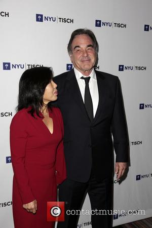 Sun-jung Jung and Oliver Stone
