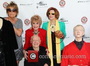 Barrie Chase, Karen Sharpe Kramer, Kat Kramer and Mickey Rooney