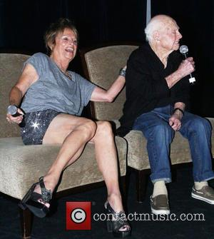 Mickey Rooney and Barrie Chase