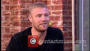 Andrew Flintoff and Freddie Flintoff - Andrew Flintoff appears on 'This Morning', to talk about his new documentary 'Road Through...