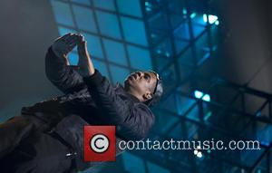 Jay-Z - Jay-Z perfoming in concert on the Magna Carter Tour held at he Ziggo Dome - Amsterdam, Netherlands -...