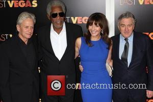 Michael Douglas, Morgan Freeman and Robert De Niro
