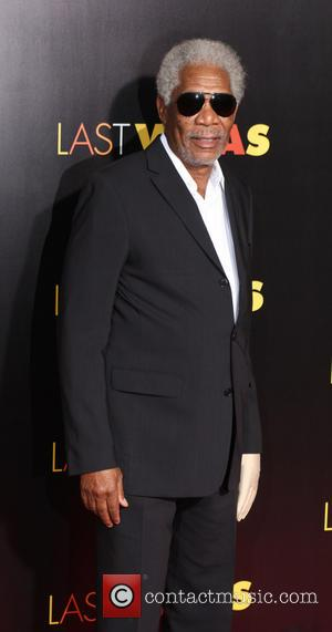 Morgan freeman - New York premiere of 'Last Vegas' at Ziegfeld Theater - Red Carpet Arrivals - New York, NY,...