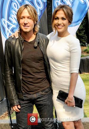 Jennifer Lopez and Keith Urban