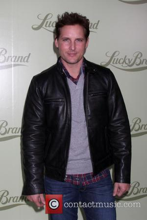 Peter Facinelli - Lucky Brand flagship store opening