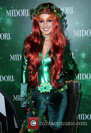 Shenae Grimes - 3rd annual Midori Green Halloween party held at Bootsy Bellows - Arrivals - Los Angeles, California, United...