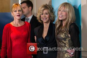 Jane Fonda, Carly Simon and Melanie Griffith
