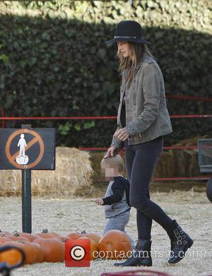 Alessandra Ambrosio and Noah Mazur