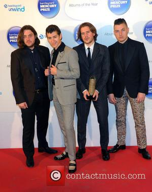 Arctic Monkeys - Barclaycard Mercury Prize held at the Roundhouse - Press Room - London, United Kingdom - Wednesday 30th...
