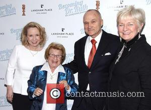 Debra Jo Rupp, Dr. Ruth K. Westheimer, Raymond Kelly and Veronica Kelly