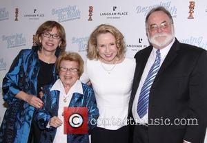 Julianne Boyd, Dr. Ruth K. Westheimer, Debra Jo Rupp and Mark St. Germain