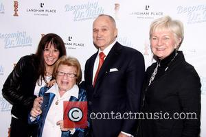 Stefany Bergson, Dr. Ruth K. Westheimer, Raymond Kelly and Veronica Kelly
