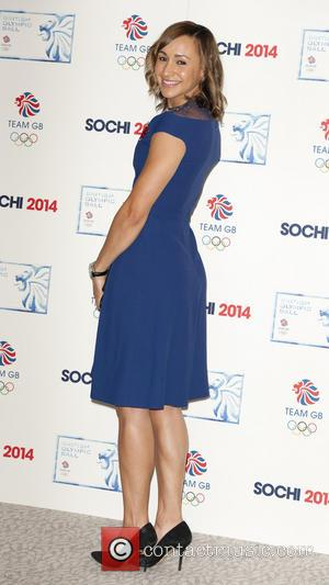 Jessica Ennis-Hill - British Olympic Ball - Arrivals - London, United Kingdom - Wednesday 30th October 2013