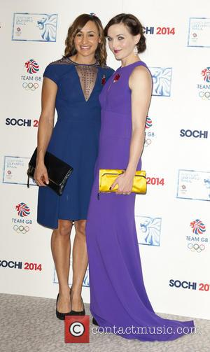 Jessica Ennis-Hill and Victoria Pendleton