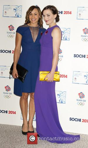 Jessica Ennis-Hill and Victoria Pendleton - British Olympic Ball - London, United Kingdom - Wednesday 30th October 2013