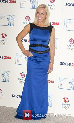 Jayne Torvill - British Olympic Ball - Arrivals - London, United Kingdom - Wednesday 30th October 2013