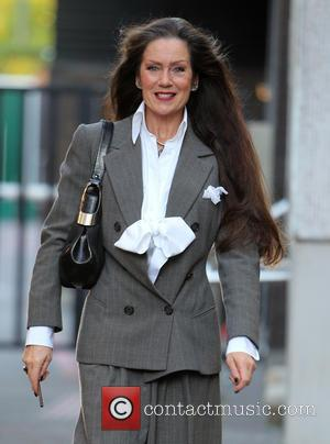 Lorraine Chase - Lorraine Chase outside the itv studios - London, United Kingdom - Wednesday 30th October 2013