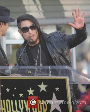 Dave Navarro - Ceremony honoring Jane's Addiction with a Star on The Hollywood Walk of Fame - Los Angeles, CA,...