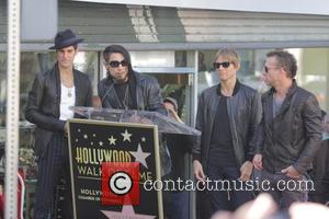 Perry Farrell, Dave Navarro, Stephen Perkins and Chris Chaney