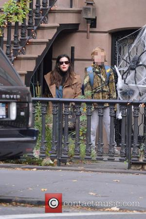 Liv Tyler and Milo Langdon