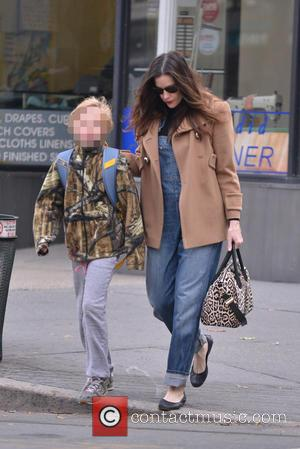 Liv Tyler and Milo Langdon