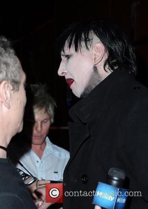 Marilyn Manson - Marilyn Manson Hosts Halloween Horror Bash at Hyde Bellagio in Las Vegas - Las Vegas, NV, United...