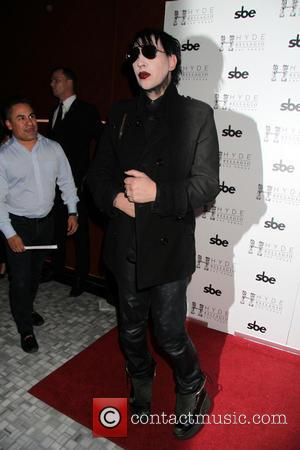 Marilyn Manson - Marilyn Manson Hosts Halloween Bash At Hyde Nightclub Inside Bellagio Hotel And Casino In Las Vegas, NV...