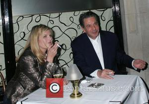 Susannah Constantine and Charles Saatchi
