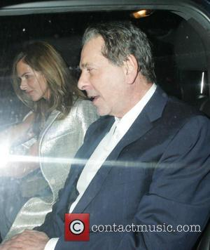Trinny Woodall and Charles Saatchi - Charles Saatchi dines with Trinny Woodall and Susannah Constantine at Scott's in Mayfair -...