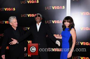 Mary Steenburgen, Morgan Freeman and Michael Douglas