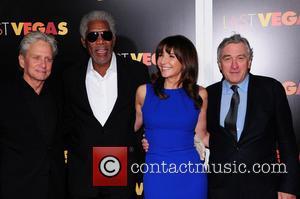 Mary Steenburgen, Morgan Freeman, Robert De Niro and Michael Douglas