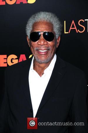 Morgan Freeman - NY Premiere of Last  Vegas