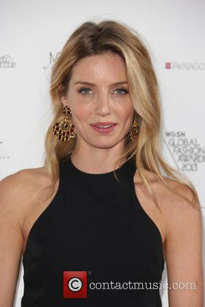 Annabelle Wallis - WGSN Global Fashion Awards held at the Victoria & Albert Museum - Arrivals - London, United Kingdom...