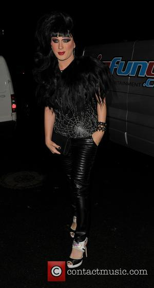 Jodie Harsh - Jonathan Ross hosts his annual Halloween Party at his home in North London - London, United Kingdom...