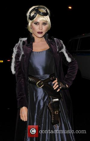 Danielle Lineker - Jonathan Ross hosts his annual Halloween Party at his home in North London - London, United Kingdom...
