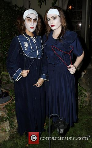 Burgundi Phoenix and Kellie Catena - SYFY's Monster Man Halloween Party hosted by Cleve Hall at a private residence -...