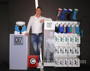 Cristiano Ronaldo - Cristiano Ronaldo launches his CR7 by Cristiano Ronaldo Underwear line at Palacio de Cibeles. The collection will...