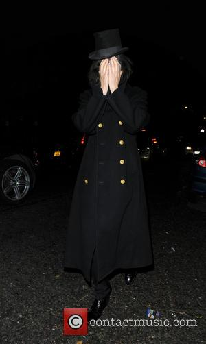 Bobby Gillespie - Jonathan Ross Halloween party - London, United Kingdom - Thursday 31st October 2013