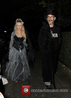 David Baddiel - Jonathan Ross Halloween party - London, United Kingdom - Thursday 31st October 2013