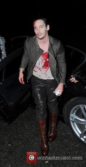 Jonathan Rhys Meyers - Jonathan Ross Halloween Party - London, United Kingdom - Thursday 31st October 2013