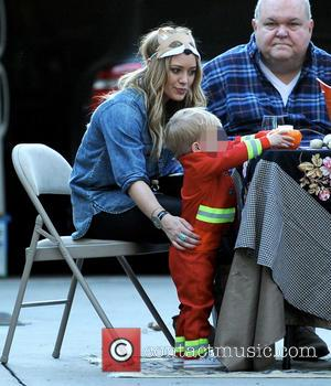 Hilary Duff, Luca and Bob