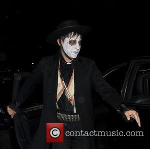 Jamie Hince - Kate Moss and Jamie Hince attend Jonathan Ross' Halloween party - London, United Kingdom - Thursday 31st...