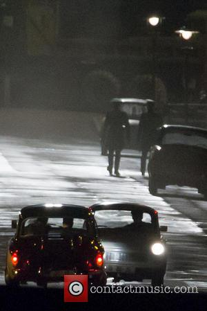Armie Hammer and Henry Cavill - Man from U.N.C.L.E. filming continues in Ken as Armie Hammer and Henry Cavill are...