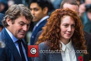 Charlie Brooks and Rebekah Brooks - Rebekah Brooks arrives at The Old Baily where she will stand trial alongside former...