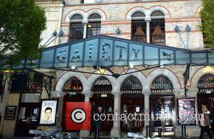 Will Young and The Gaiety - Notice put on the door of The Gaiety Theatre that Will Young is too...